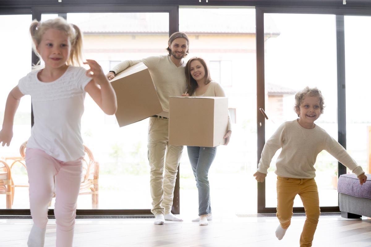 Beitrag Baukindergeld Familie Einzug