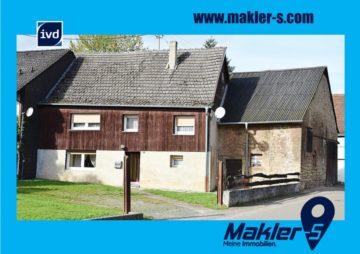 RESERVIERT! Ihr erster Schritt zum Eigentum: Wohnhaus mit kleinem Grundstück und Nebengebäude, 55758 Sien, Einfamilienhaus