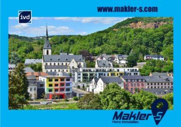 Kirn/Nahe: Schöne Stadtwohnung mit besonderem Flair, 3ZKDB, EBK, BLK, TG, Fahrst., 55606 Kirn, Etagenwohnung